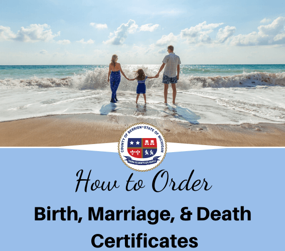 How to Order Birth, Marriage, and Death Certificates Image